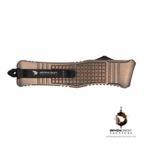 RCT-2 Raven Tactical OTF Knife (Copper)