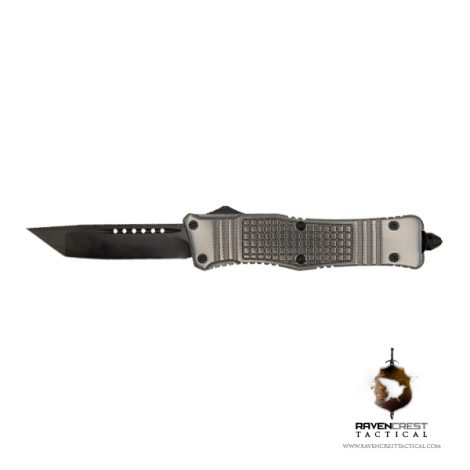 RCT-2 Raven Tactical OTF Knife (Gunmetal)