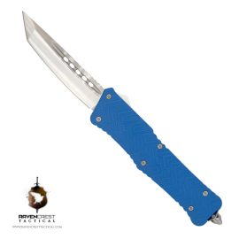 Cerakote Zhanshi (Warrior) OTF Knife (NRA Blue)