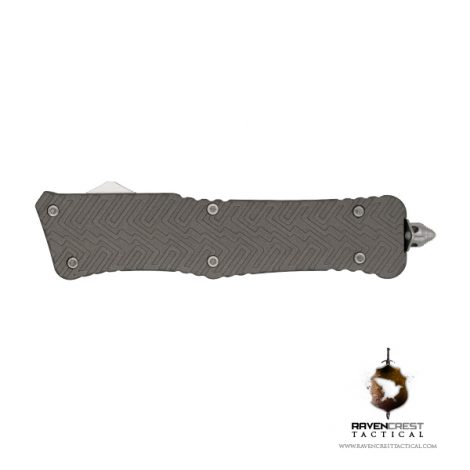 Cerakote Zhanshi (Warrior) OTF Knife (Tungsten)