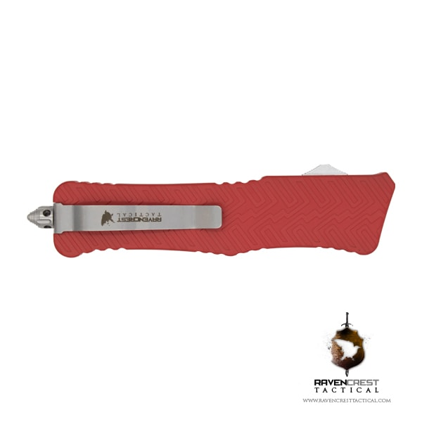 Cerakote Zhanshi (Warrior) OTF Knife (USMC Red)