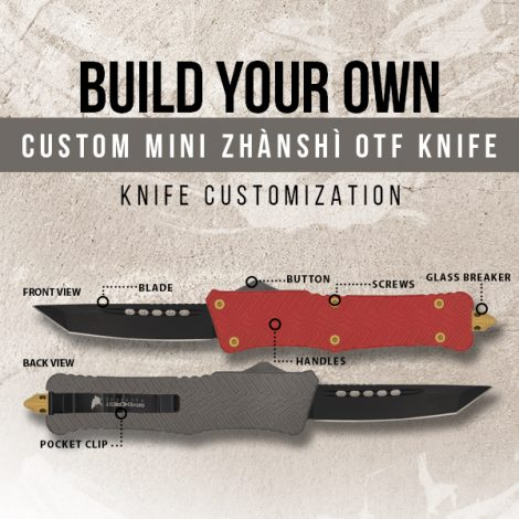 Build Your Own Mini Zhanshi OTF Knife
