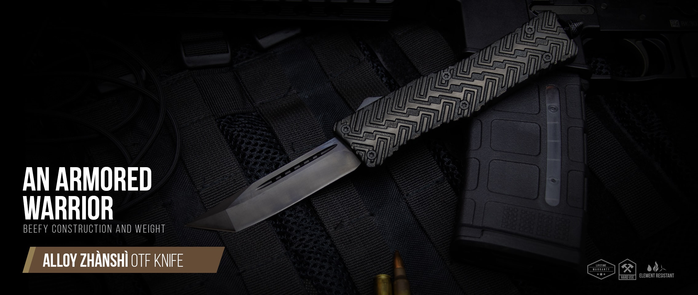 Alloy Zhanshi OTF Knife
