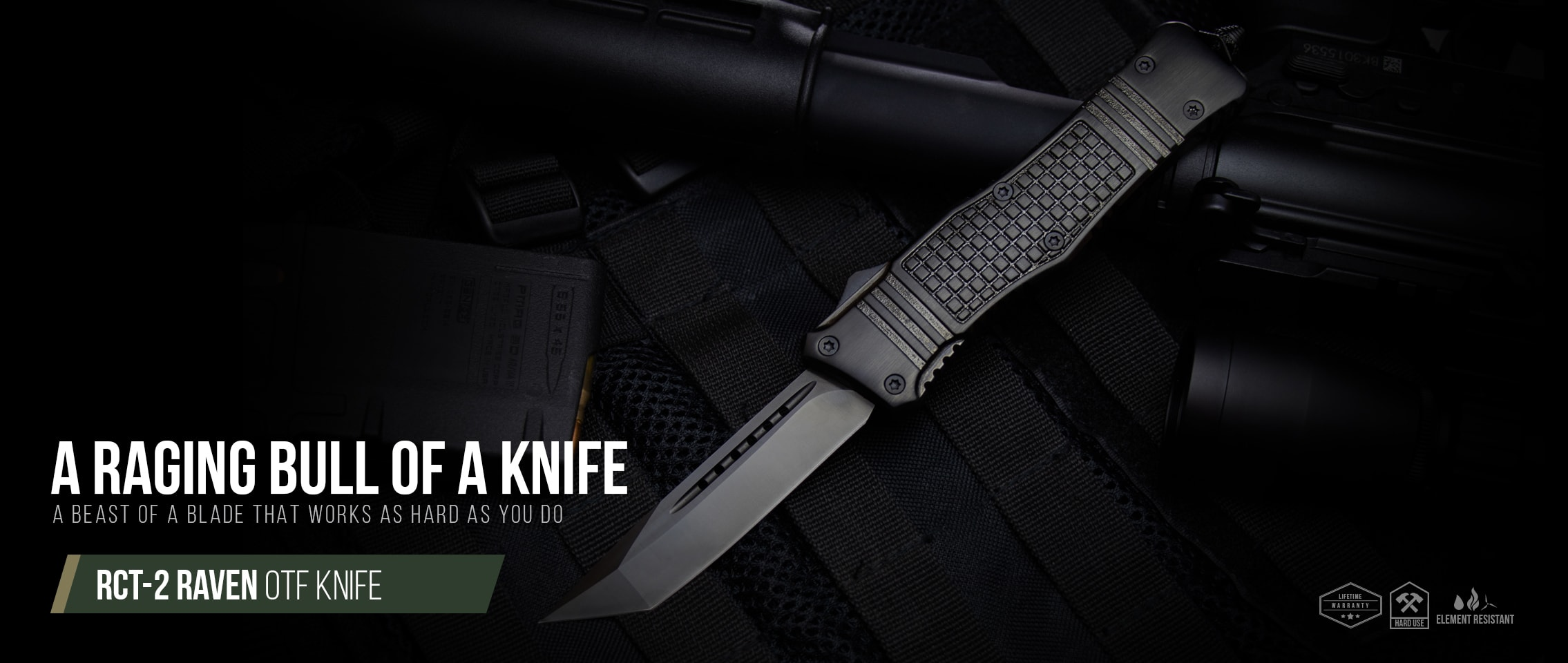 RCT-2 Raven OTF Knife