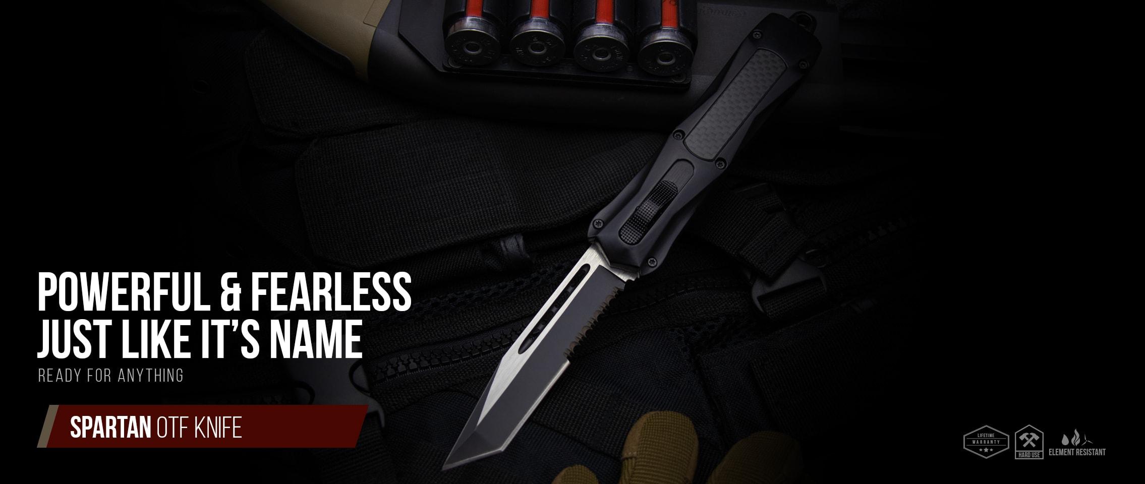 Spartan OTF Knife