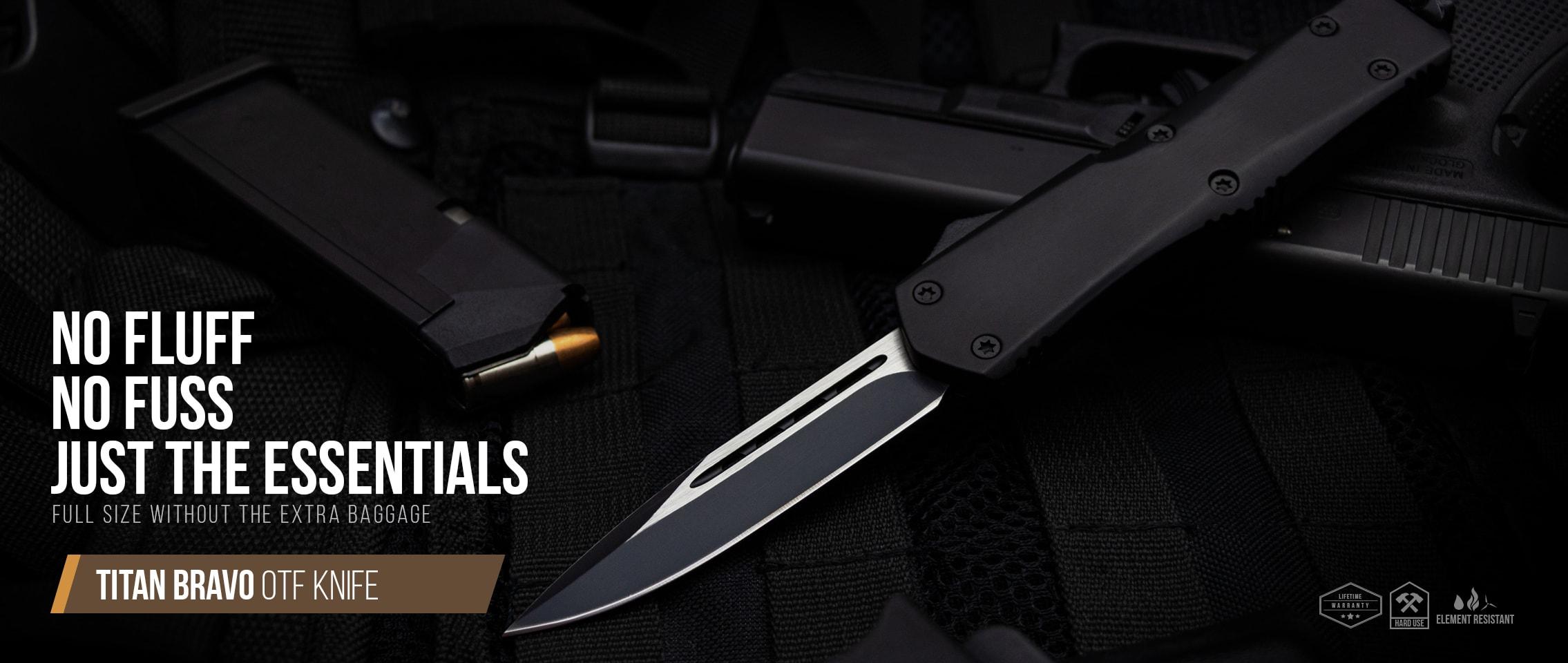 TItan Bravo OTF Knife