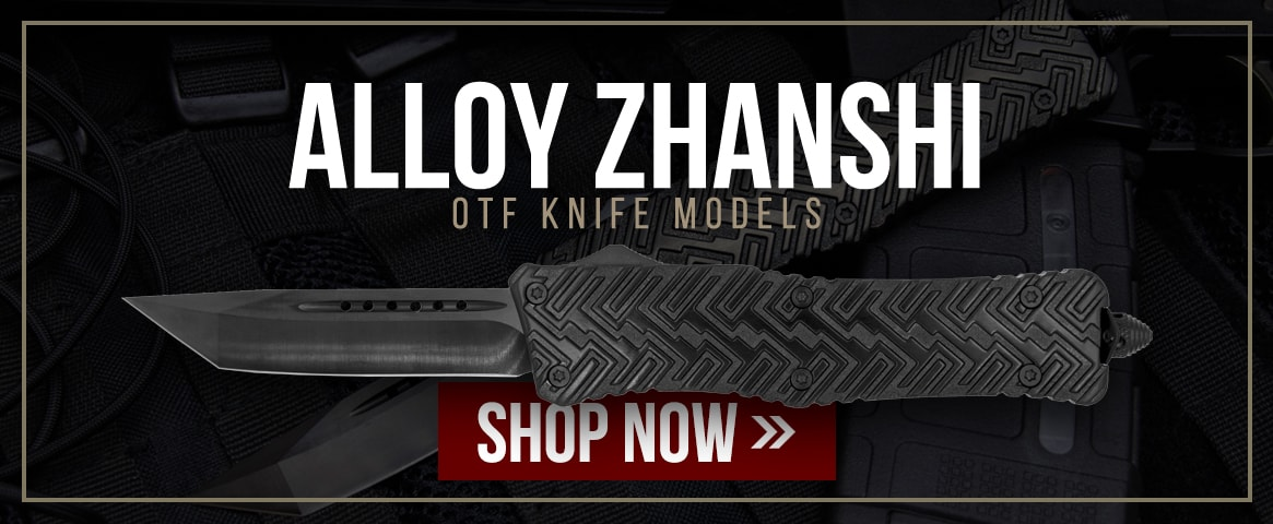 Alloy Zhanshi OTF Knife Models