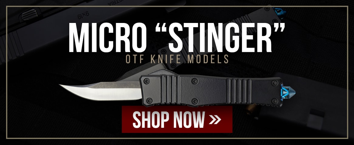 Micro Stinger OTF Knife Models