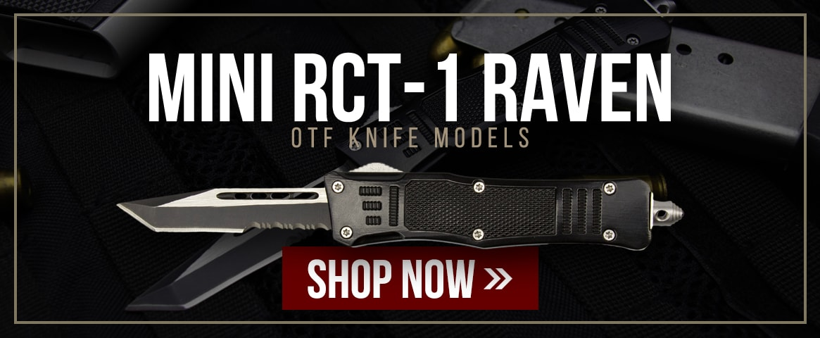 Mini RCT-1 Raven OTF Knife Models