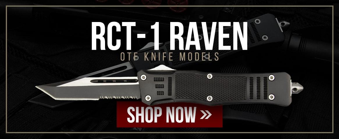 RCT-1 Raven OTF Knife