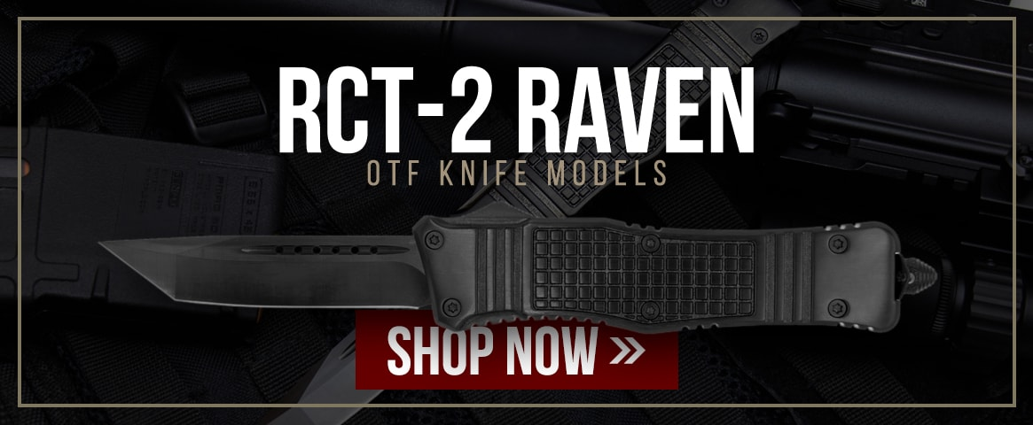 RCT-2 Raven OTF Knife Models