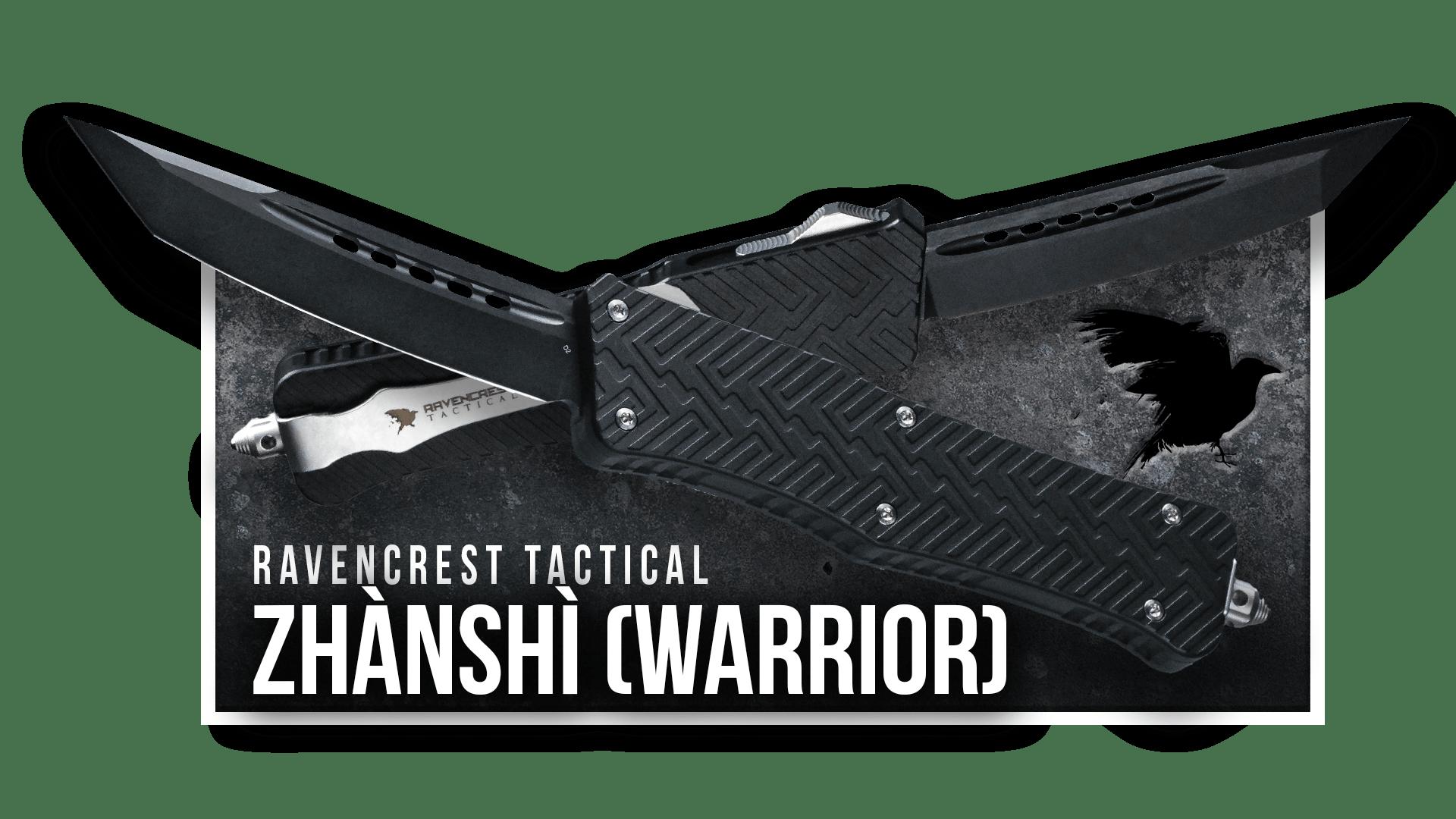 OTF Knife - Zhanshi - RavenCrest Tactical