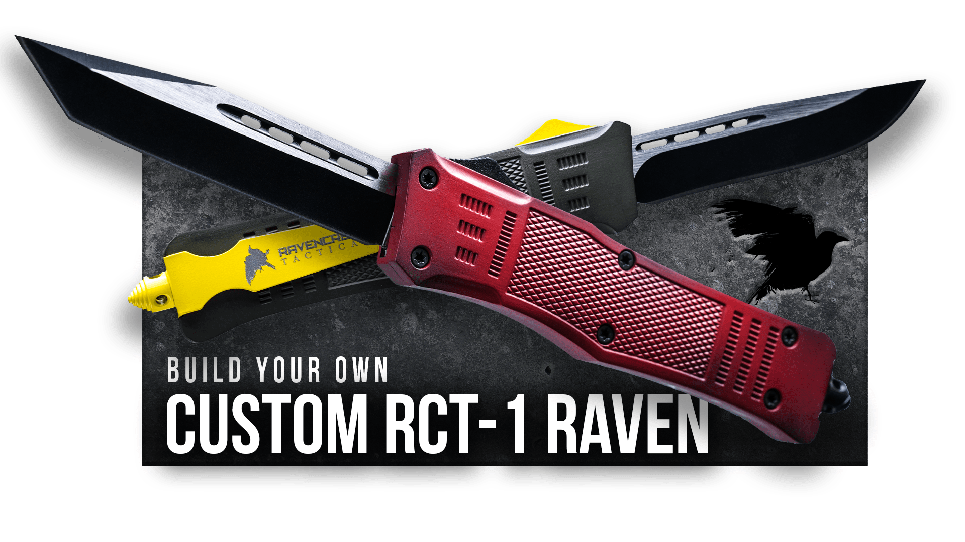 Build Your Own - RCT-1 Raven OTF Knife