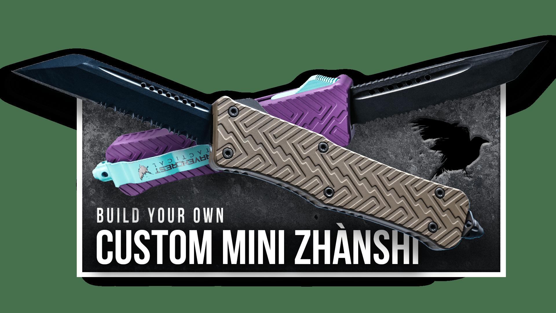 Build Your Own - Mini Zhanshi OTF Knife